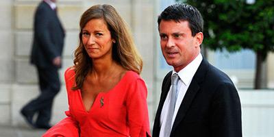 L'épouse de Manuel Valls en concert à Rabat, le 19 février