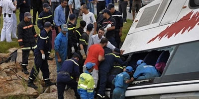 Renversement d'un autocar près d'Essaouira : 12 morts et 30 blessés !