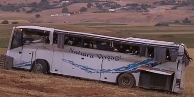 5 morts et 8 blessés dans le renversement d'un autocar près d'Essaouira