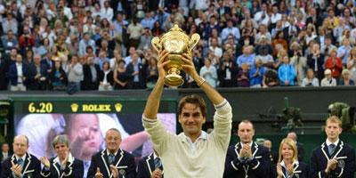 Wimbledon 2012 : Federer septuple vainqueur