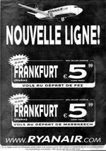 Francfort-Fès au prix d'un poulet beldi
