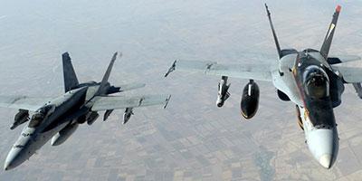 Première frappe aérienne de l'aviation turque contre l'EI dans le cadre de la coalition internationale
