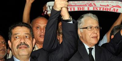 Hamid Chabat, nouveau secrétaire général du Parti de l'Istiqlal
