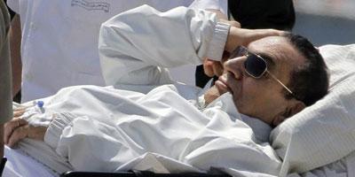 Egypte : Moubarak transféré de l'hôpital vers la prison de Tora
