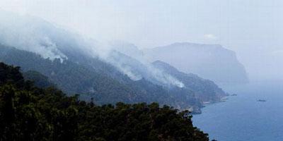 Espagne: contrôle d'un incendie de forêt qui a ravagé 1.850 hectares