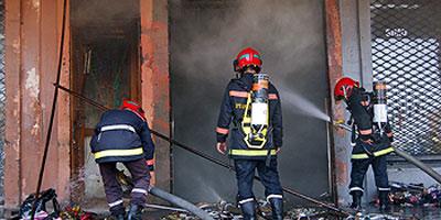 Un mort dans l'incendie d'un commerce à Casablanca