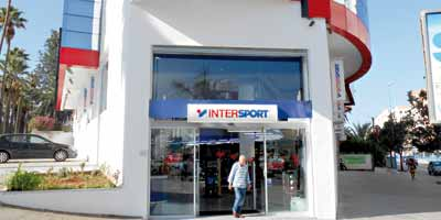 El Guerrouj ouvre son premier magasin Intersport