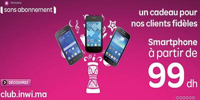 Télécoms : Des smartphones  pour le prépayé  à partir de 99 DH