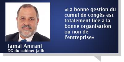 Jamal Amrani : «Il n'y a pas une période précise pour partir en congé, tout dépend du secteur»