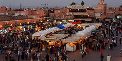 Tourisme à Marrakech : le seuil d'un million d'arrivées dépassé en 7 mois