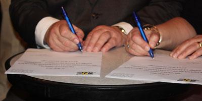 Signature d'un mémorandum d'entente entre les villes de Kénitra et de Valladolid