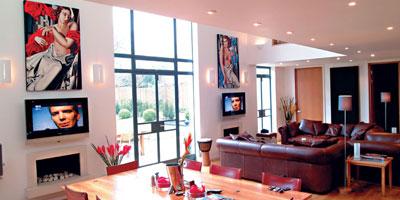 La d coration d une villa compl te l architecture d for Decoration interieur villa