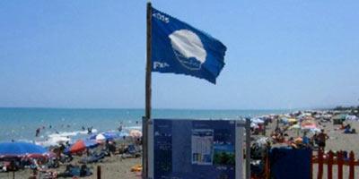 L'éco-label «Pavillon bleu» flotte sur la plage d'El Jadida