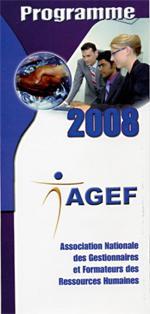 L'AGEF dévoile son plan d'action 2008