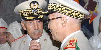 Le Général de Corps d'Armée Bouchaib Arroub reçoit le chef d'Etat-Major général de la Marine française