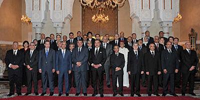 Le Roi installe les membres de la Haute Instance du dialogue national sur la réforme de la Justice