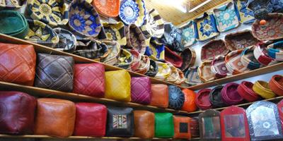 Les Marocains qualifient de «raffinés» et de «très bonne qualité» les produits d'artisanat local