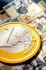L'euro à son niveau le plus bas depuis un mois face au dollar