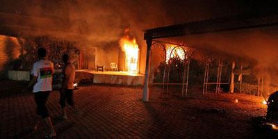 L'ambassadeur américain en Libye et 3 fonctionnaires du consulat tués à Benghazi