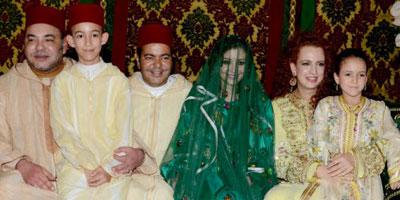 Festivités du mariage du Prince Moulay Rachid avec Lalla Oum Keltoum