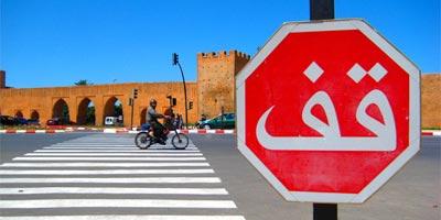Près de 94% des usagers de la route ne respectent pas le panneau STOP (ministère)