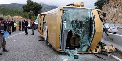Dix-huit blessés dans un accident de la circulation à Marrakech