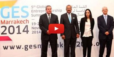 Ouverture officielle à Marrakech du Sommet global de l'entreprenariat GES 2014