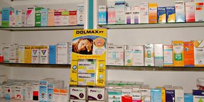 Les ventes de médicaments en baisse de 30% en janvier