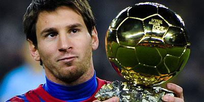 Ballon d'Or 2012 : Leo Messi, Cristiano Ronaldo, Andres Iniesta, tiercé gagnant pour Neymar