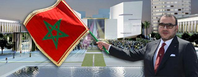 Le Souverain lance les travaux de réalisation du Grand Théà¢tre de Casablanca