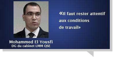 Mohammed El Yousfi : «Il faut rester attentif aux conditions de travail»