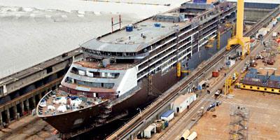 Le projet d'une stratégie pour le chantier naval activé