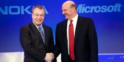 Microsoft va racheter les téléphones Nokia pour 5,44 milliards d'euros