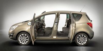 Le nouvel Opel Meriva en concession: plus d'espace  et une foule d'innovations