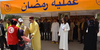 Opération «Ramadan 1436» : 969 familles bénéficiaires à M'diq