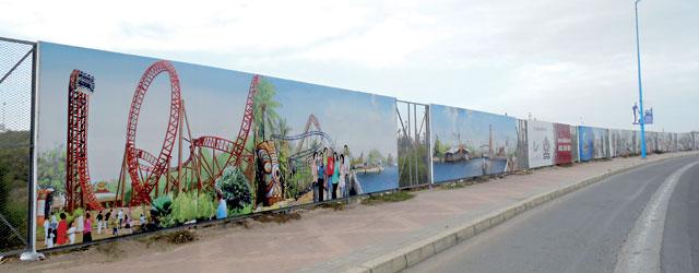 Le parc Sindibad de Casablanca ouvre  le premier trimestre 2015