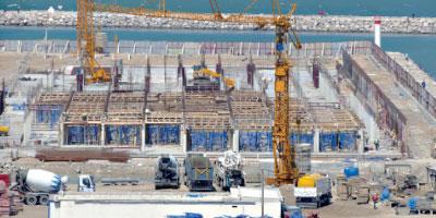 Dernière ligne droite dans la reconversion  du port de Tanger Ville