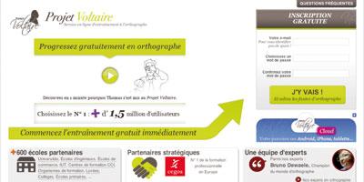 Projet Voltaire, l'outil qui vous aide à perfectionner vos écrits professionnels