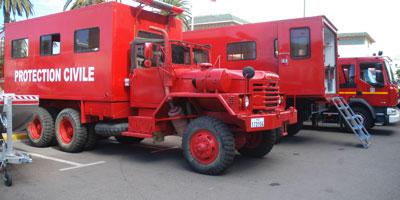 Une caserne de pompiers privée à Tanger