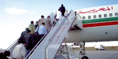 Arrivée à N'Djamena du premier vol de la Royal Air Maroc