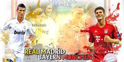 Bayern Munich vs Real Madrid : un duel très équilibré en ligue des champions