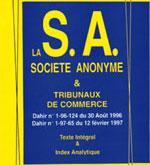 Loi sur la société anonyme : les principaux changements