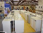 Le volume des ventes de réfrigérateurs et de machines  à laver baisse, mais le chiffre d'affaires augmente