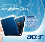 Internet 3G : les opérateurs dopent leurs offres avec des PC portables à petit prix