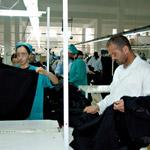 Exportations textiles : la confection chute,  la bonneterie se maintient