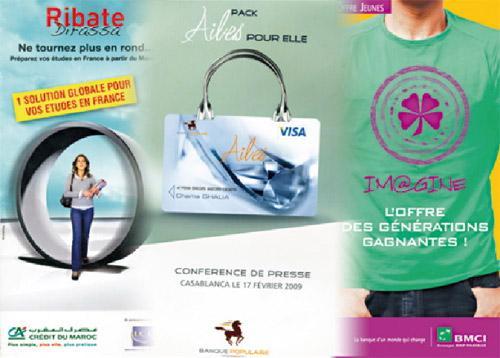 Que valent les produits bancaires  destinés aux femmes et aux jeunes ?