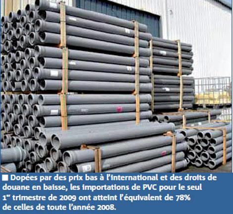 Protection contre les importations de PVC : l'Etat ouvre une enquête suite à la requête de la SNEP