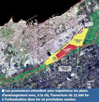 Casablanca : le premier plan d'aménagement prêt, neuf autres suivront