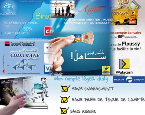 Carte Bancaire Prepayee Maroc.Cartes Prepayees Promenez Vous Sans Liquidites Et Sans