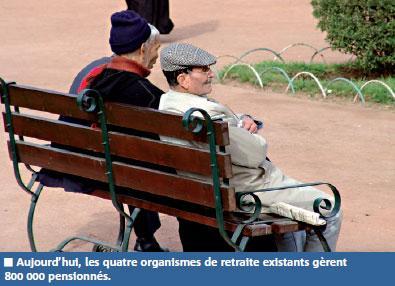 Réforme des retraites : un ou deux organismes à la place de quatre